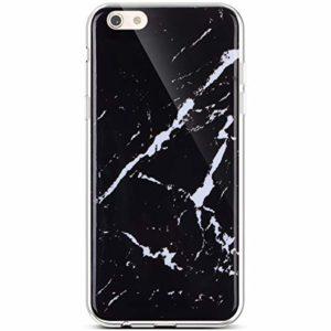 Hpory Marbre Housse Compatible avec iPhone 6/iPhone 6s 4.7″ Coque en Silicone Etui Housse Série de Marbre Flexible Souple Doux Ultra Fine TPU Silicone Case Antichoc, Marbre#10