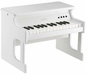 Korg TINYPIANO Piano 25 notes amplifié Blanc