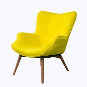 Nordic Single Sofa Chaise Moderne Minimaliste Petit Appartement Casual Tiger Chaise Chambre Balcon Paresseux Petit canapé inclinable,2