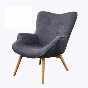 Nordic Single Sofa Chaise Moderne Minimaliste Petit Appartement Casual Tiger Chaise Chambre Balcon Paresseux Petit canapé inclinable,3