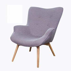 Nordic Single Sofa Chaise Moderne Minimaliste Petit Appartement Casual Tiger Chaise Chambre Balcon Paresseux Petit canapé inclinable,5