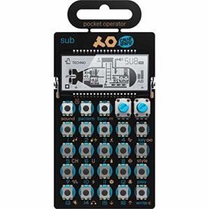 opérateur de poche PO 14Sub Synthersizer 16Step Motif Séquenceur–Noir/Bleu