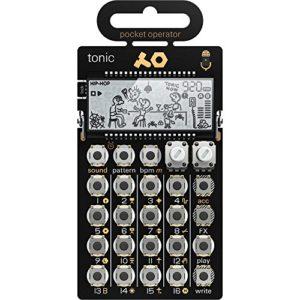 Teenage Engineering Po-32Tonic Drum synthétiseur et Séquenceur, Doré/noir