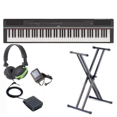 Yamaha P-125 Piano numérique portable 1