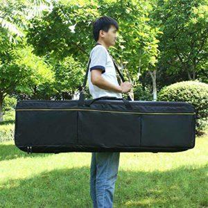 Yiwa Housse de Protection pour Claviers,88 touches clavier électronique pack universel imperméable à l'eau épaissie sac piano couvercle du clavier cas