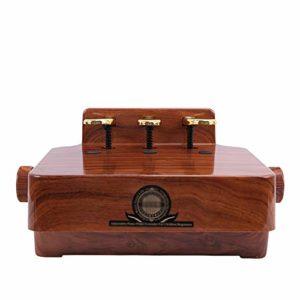 Bangxiu Pédales pour Piano Piano Sustain Peda lAuxiliary Pédale Escabeau Tabouret Enfant Piano électrique Booster Lift pédale de Sustain Pédale de Sustain (Color : Wood, Size : 38x28cm)