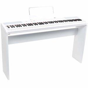 Fazley FSP-200-W Piano numérique + cadre Blanc