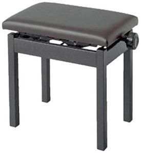 Korg PC-300BK Banquette de piano noire réglable