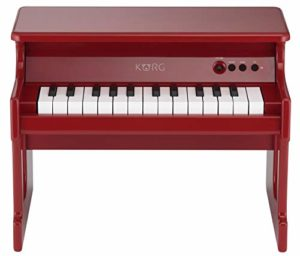 Korg TINYPIANO Piano 25 notes amplifié Rouge