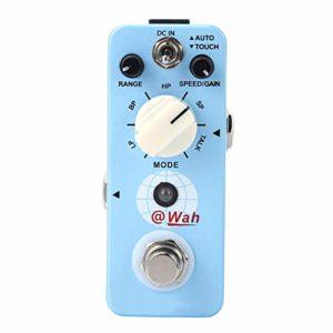 Lecteurs de guitare électrique, Wah automatique numérique électrique réglable pour joueurs de basse et de guitare boîtier tout en métal guitare Multi