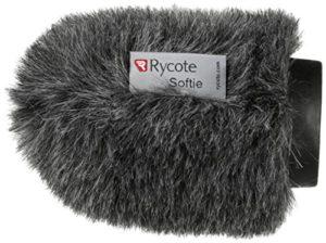 Rycote 033022 Softie Bonnette à poils trou 19-22mm, long. 100mm