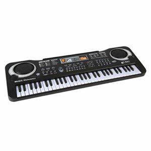 xiaoxioaguo 61 touches clavier électronique numérique orgue piano avec microphone